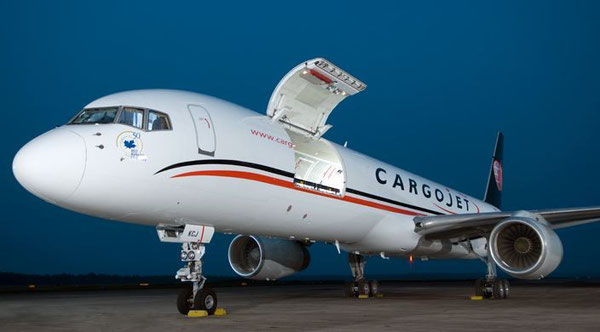 Cargojet converted Boeing 757-200PCF  /  courtesy: Precision Aircraft Solutions.