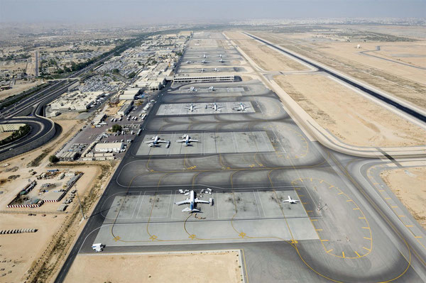 Muscat Airport will become a transit point for goods flown by CV or WY  /  source Muscat Apt.