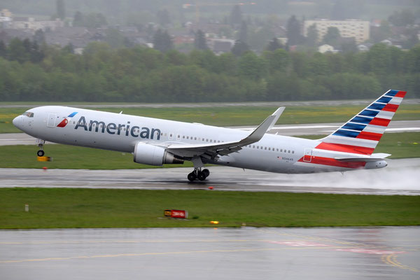 AA operates Boeing 767s on the daily ORD-DUS route  /  courtesy: DUS