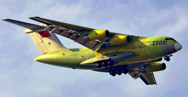 Civil version of military Y-20 transporter is being developed