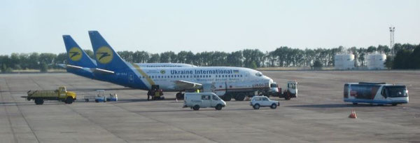Kiev Boryspil Airport is UIA's home base  /  source: UIA