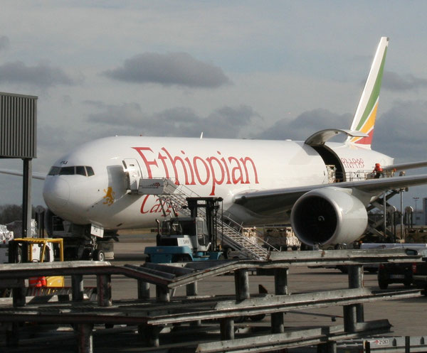 Ethiopian's Boeing 777 freighters will soon be seen at Maastricht Airport  -  source: ms