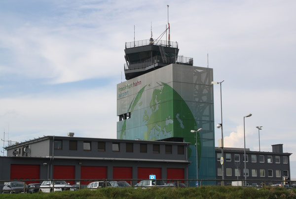 Hahn's U.S. Air Force built and meanwhile embellished tower.