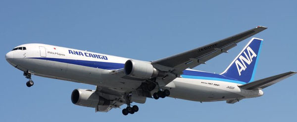 ANA Cargo operates ten Boeing 767 freighters  /  source: Boeing