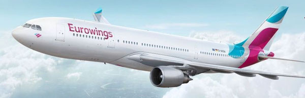 The lower deck capacity of EW's A330-200 fleet will be managed by LH Cargo  -  courtesy: EW
