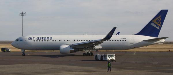 Air Astana Boeing 767-300 Courtesy Air Astana