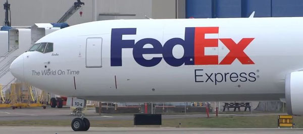 FedEx operated Boeing 767F / courtesy Boeing