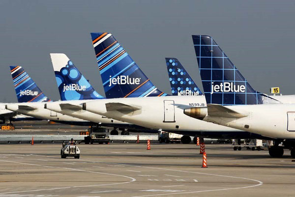 "U.S. carrier JetBlue commissioned Emirates to operate the services between Washington and Dubai based on the ""Fly America Act""  -  photo: JetBlue"