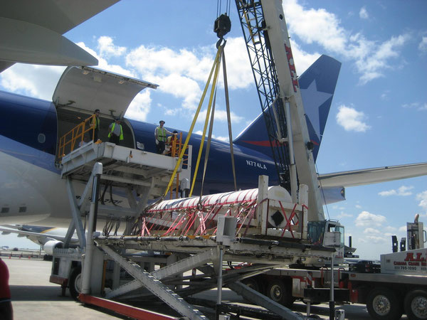LAN Cargo operates Boeing 777 freighters on transatlantic routes  /  company courtesy