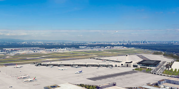 Animation of Frankfurt's T3  /  courtesy Fraport