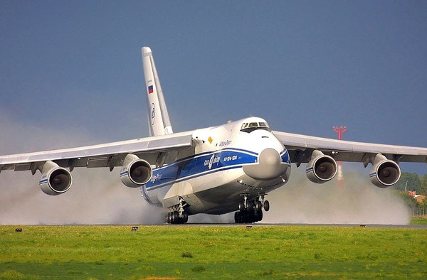Volga-Dnepr added two units to its fleet of big AN-124, totaling 14 now  -  courtesy: V-D