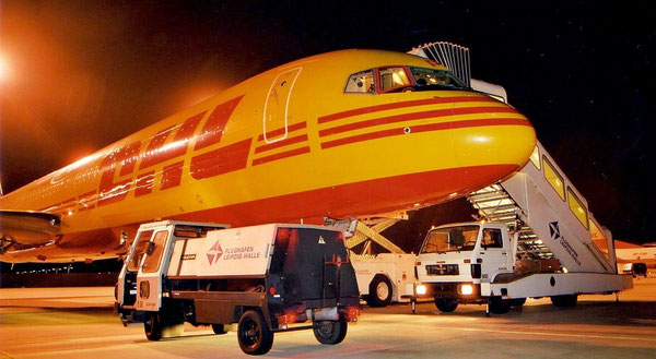 DHL's current 33 Boeing 757Fs will be dismantled  /  pictures: hs
