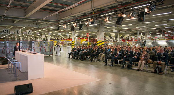110 representatives of the air cargo industry attended the Leipzig meeting  - courtesy BDL