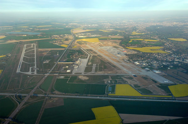 Leipzig-Halle Airport  -  company courtesy