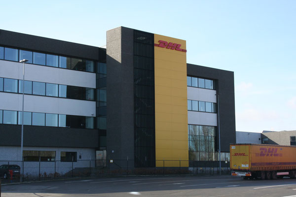 DHL GF's headquarters at Brussels Airport