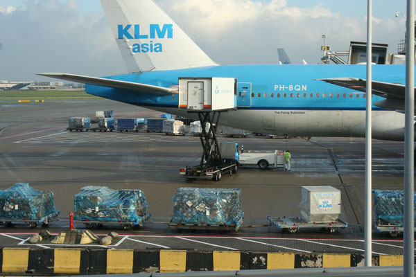 The protectionist attitude around KLM jeopardizes Schiphol's role as Europe's third largest air cargo hub, criticize more and more managers  -  picture ms