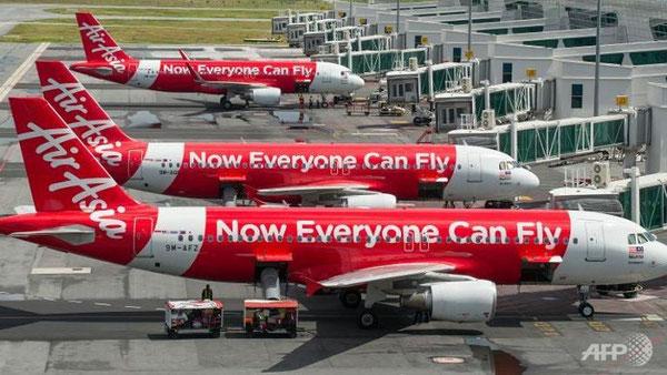 AirAsia aircraft at KLIA2