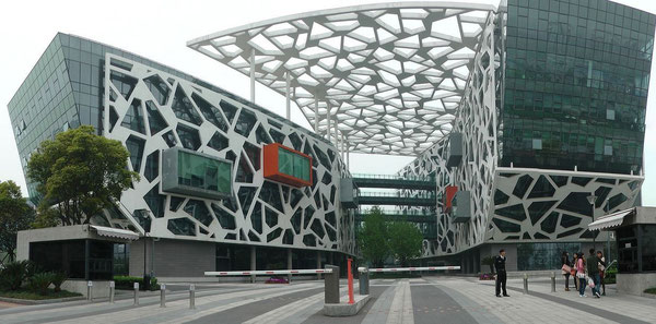 Alibaba's Group HQ in Hangzhou  - credit T. Lombard