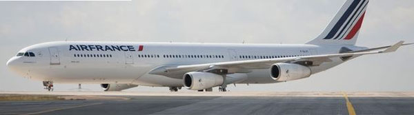 Fourteen of AF's A340s will have to leave the fleet  -  courtesy AF