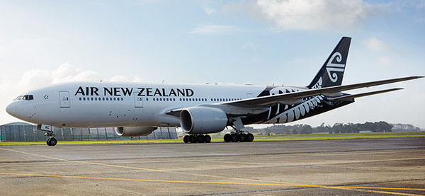 Boeing 777-300F Air New Zealand  -  company courtesy
