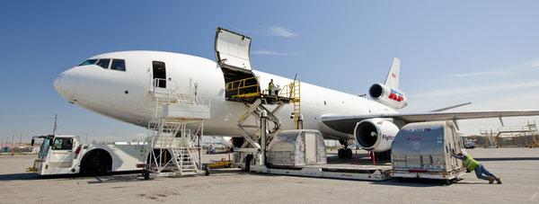 Kewlona operated DC-10F  /  company courtesy