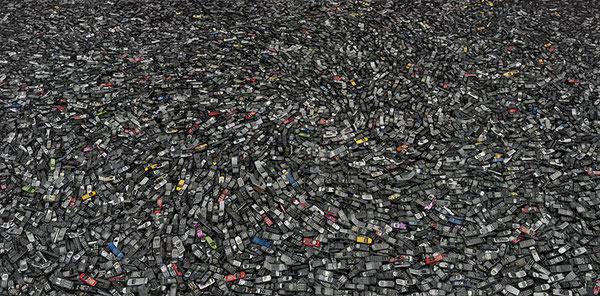 Cell phones #2, Atlanta 2005.