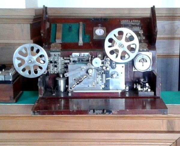 Cassetta telegrafica Pio Pion