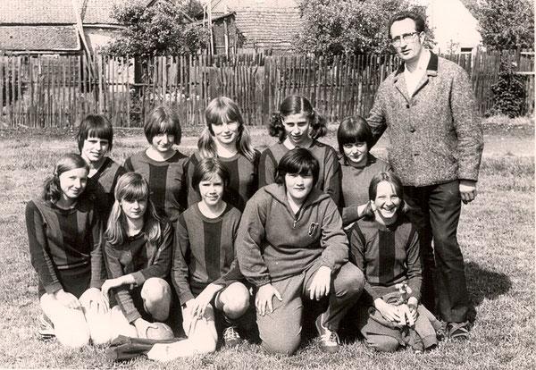 Turnier in Vinzelberg 1969   Mädchen AK 13/14