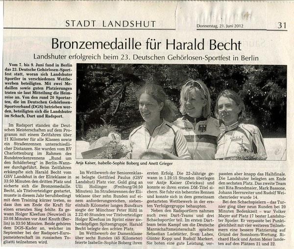 Quelle: Landshuter Zeitung vom 21.06.2012