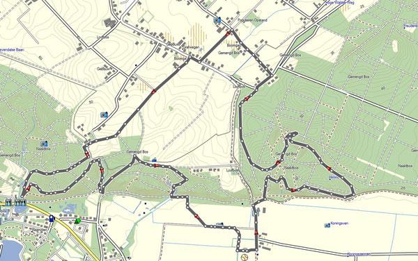 Ketelwaldtrail 2015.  11km