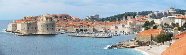 The old town of Dubrovnik