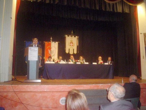 Inizio del lavori - Relazione introduttiva dell'Avv. S.Timpanaro