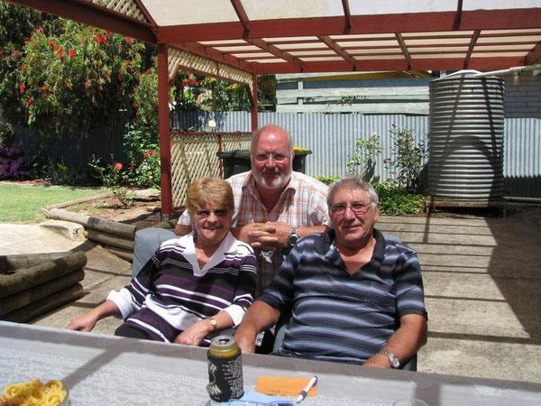 Unsere Freunde Rosmarie und Peter