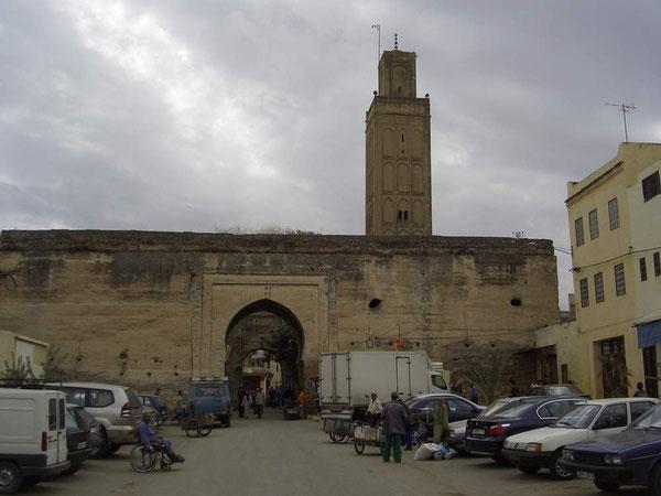 Das Stadttor von Meknes