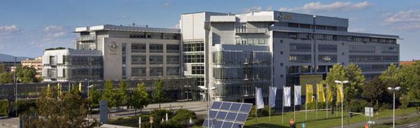 Unternehmenszentrale in Rüsselsheim