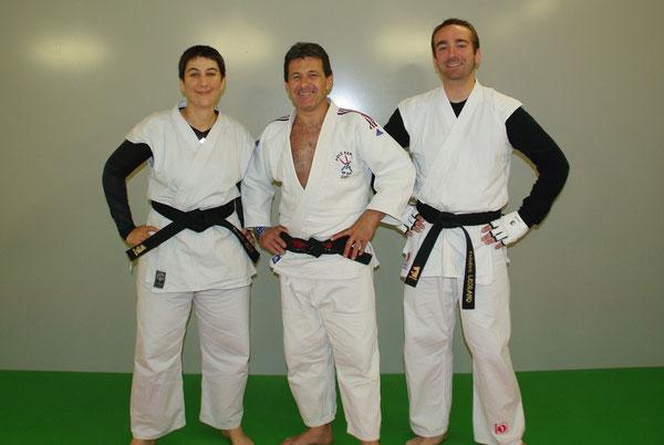 Mélanie, Alberto et Frédéric