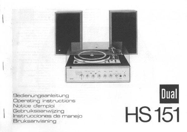 Bedienungsanleitung HS 151