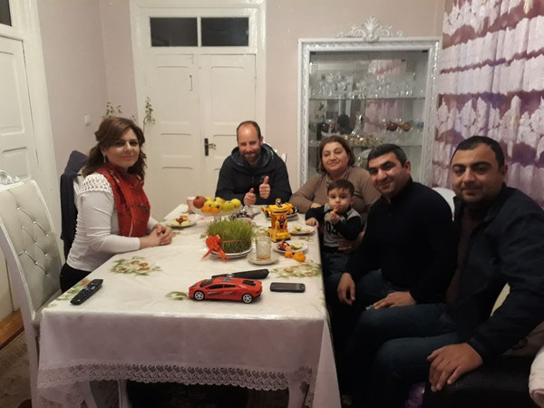 Said and family in Ağstafa