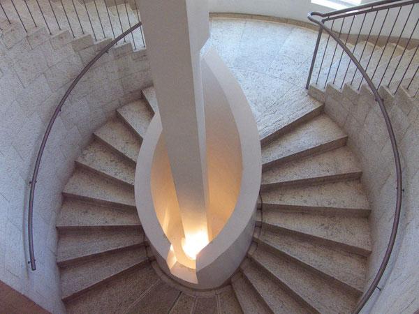 Höchster Gerichtshof/The Supreme Court, Treppe/Staircase, Jerusalem, Israel, 26.06.2011, Lumix Fz18. Foto: Eleonore Schindler von Wallenstern.