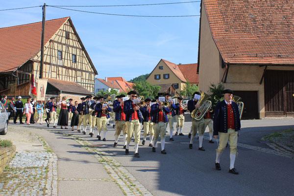 Musikverein Wendelsheim/Musical society Wendelsheim, 19.06.2014, Wendelsheim (Rottenburg), Germany, Canon EOS 550d. Foto: Eleonore Schindler von Wallenstern.