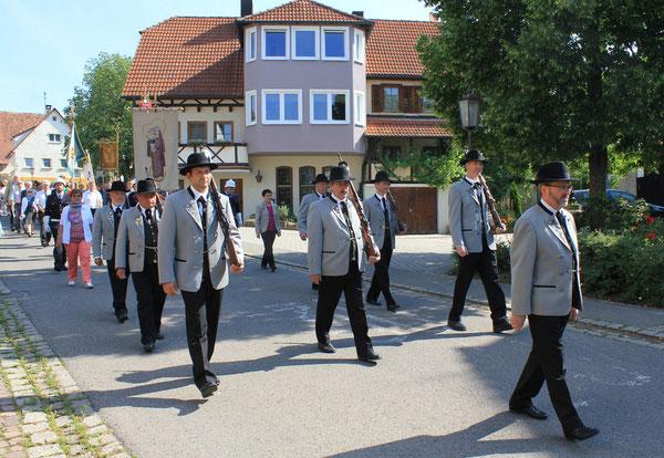 Schützenverein Wendelsheim/Shooting association Wendelsheim, 19.06.2014, Wendelsheim (Rottenburg), Germany, Canon EOS 550d. Foto: Eleonore Schindler von Wallenstern.