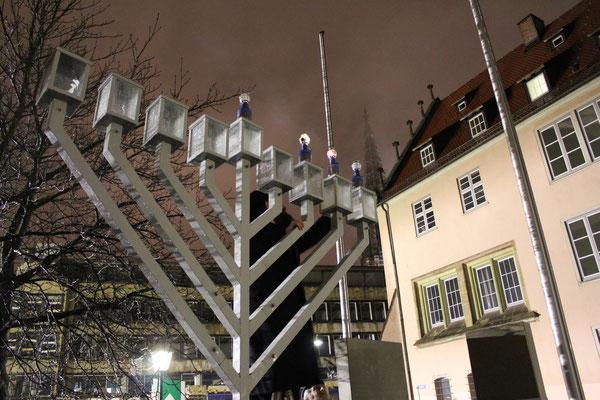 Chanukka, Jüdische Gemeinde Ulm/Jewish parish Ulm , Germany, 22.11.2012, Canon EOS 550d. Foto: Eleonore Schindler von Wallenstern.