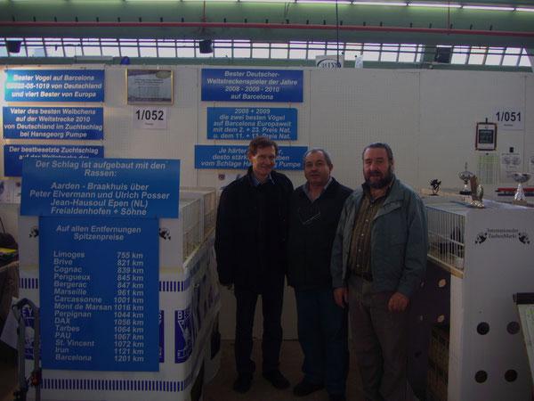 Ralf Swidurski, Dr. Michael Barsan,H.Joachim Jankowski