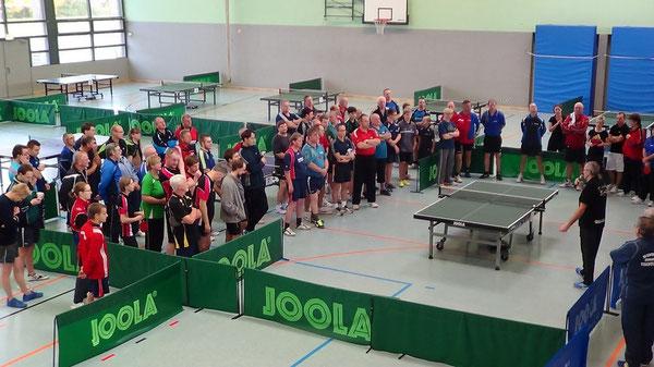 Teilnehmer an der KM 2013, 84 Teilnehmer gingen in Pasewalk an den Start.