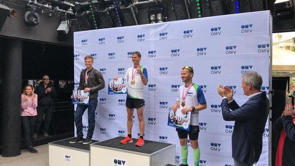 Christian Wurzberger als Sieger bei der OMV-internen Siegerehrung!