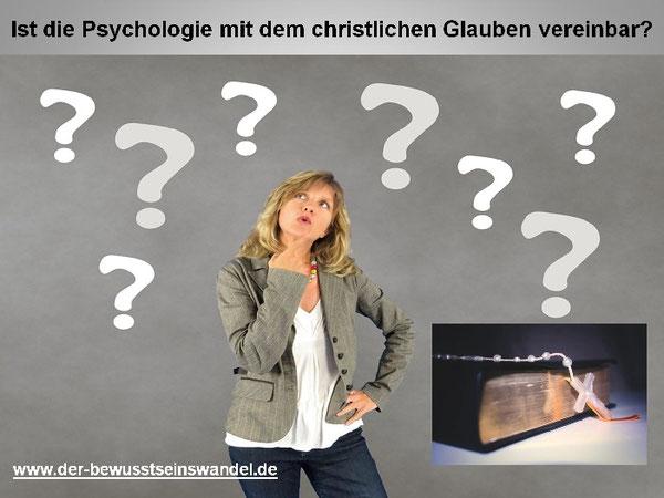Ich Frage mich als Christ, ob ich mich mit meinen seelischen Problemen an einem Psychologen wenden soll?