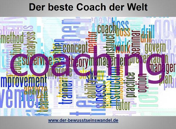 Es gibt heutzutage tatsächlich für alles einen Coach. Aber nur einen der alles Themen beherrscht.