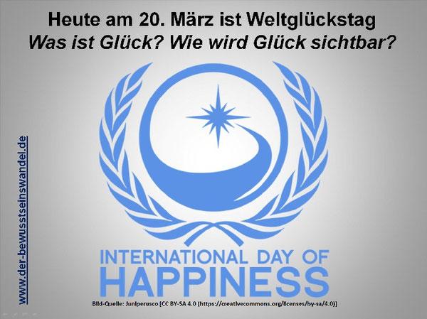 Jedes Jahr am 20. März wird der Weltglückstag gefeiert