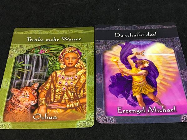 Orakel der aufgestiegenen Meister von Doreen Virtue auf Phönixzauber - kostenlose Tagesbotschaft
