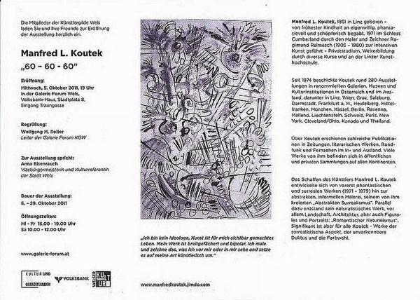 60 - 60 - 60 Manfred L. KOUTEK